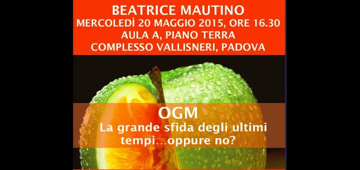 Conferenza Beatrice Mautino