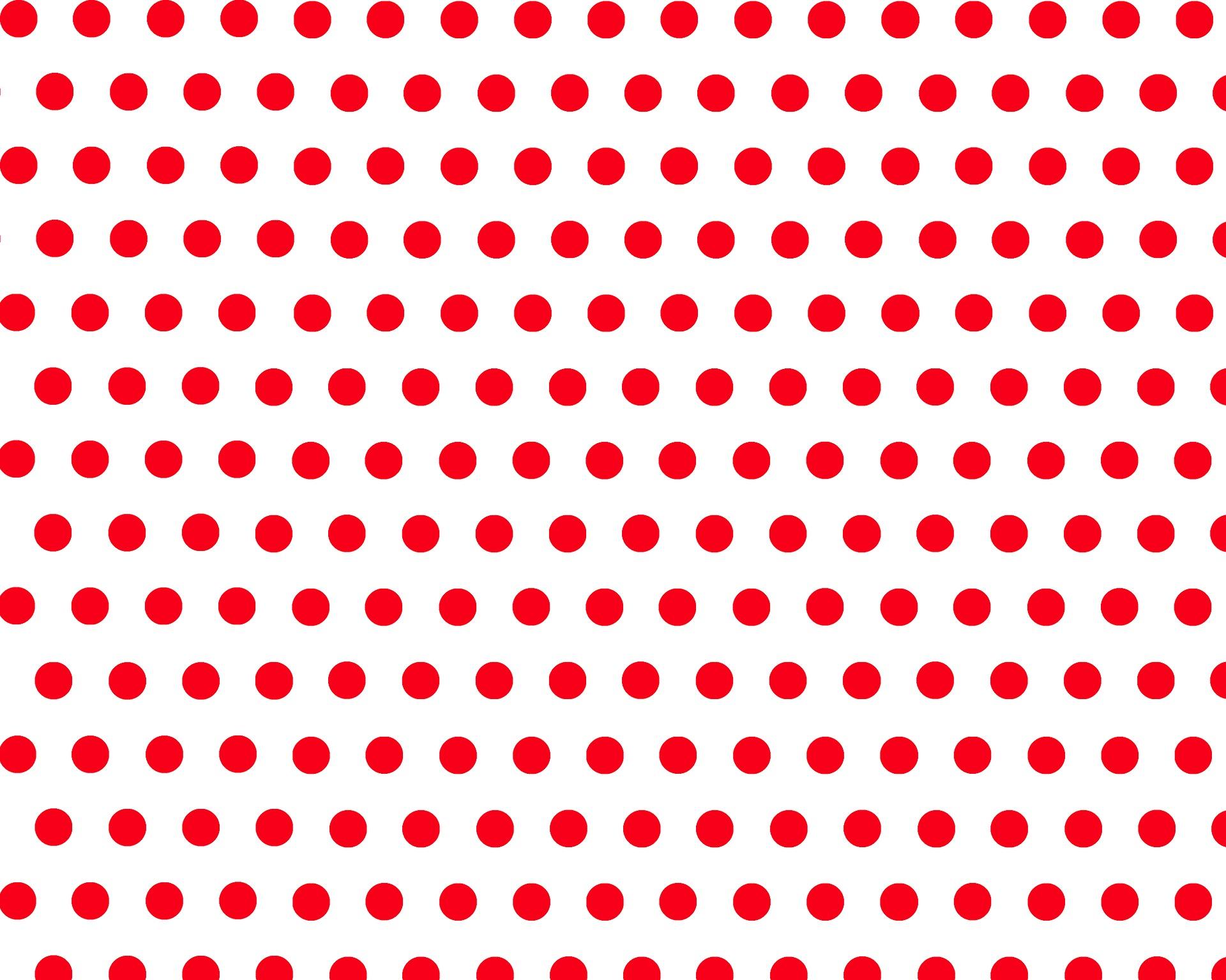 Pois rossi su fondo bianco