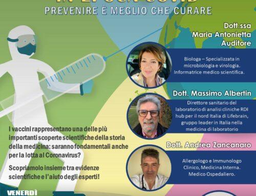 Vaccini in epoca COVID – Prevenire è meglio che curare