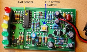 Dettaglio circuito K-II EMF Meter