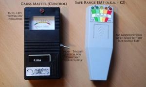 K-II EMF Meter e gaussimetro