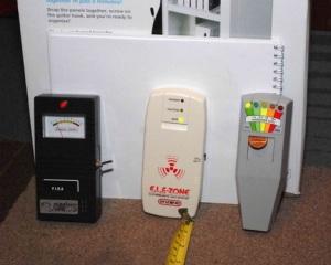 Gauss Maestro EMF Meter, ELF-Zone Meter e K-II EMF Meter
