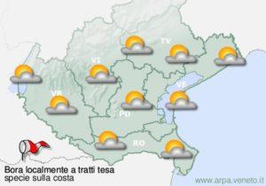 Immagine di esempio di previsione meteo.